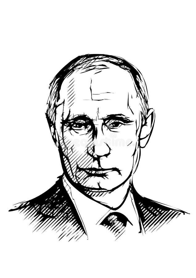 Vladimir Putin ilustracja ilustracji