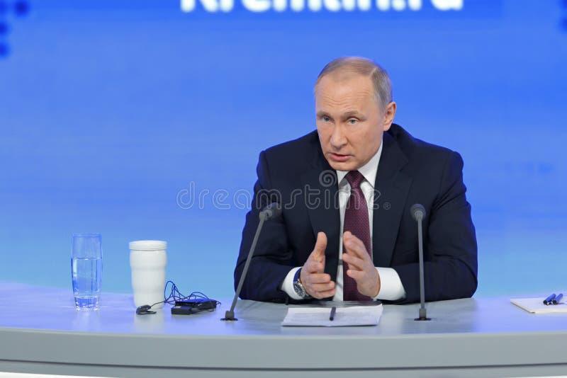 Download Vladimir Putin editorial image. Image of head, microphone - 83721345