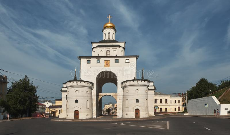 VLADIMIR, RUSSIA - July 28, 2018 Golden Gate royalty free stock photography