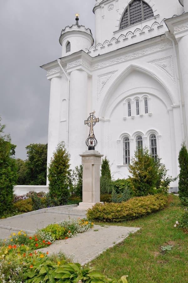 VLADIMIR, RUSSLAND - 29. August 2015: Vladimir Assumption Cathedral Uspensky Cathedral lizenzfreies stockfoto