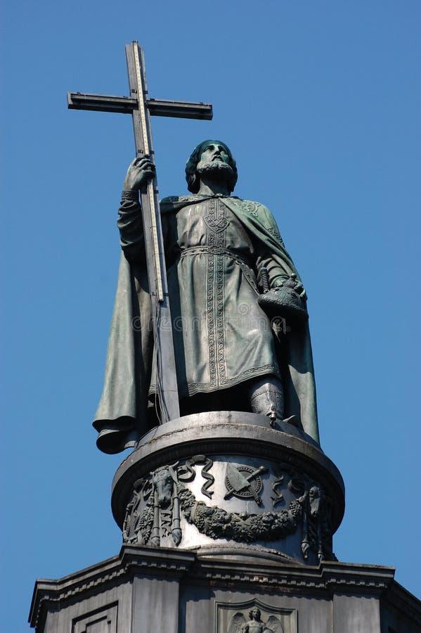 Vladimir. Simbol de Kiev imagens de stock royalty free