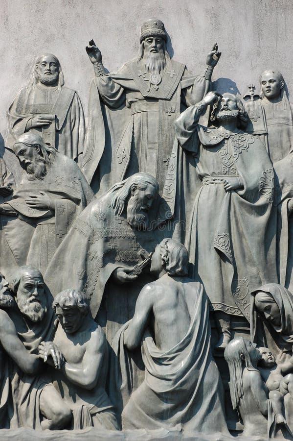 Vladimir. Simbol de Kiev foto de stock