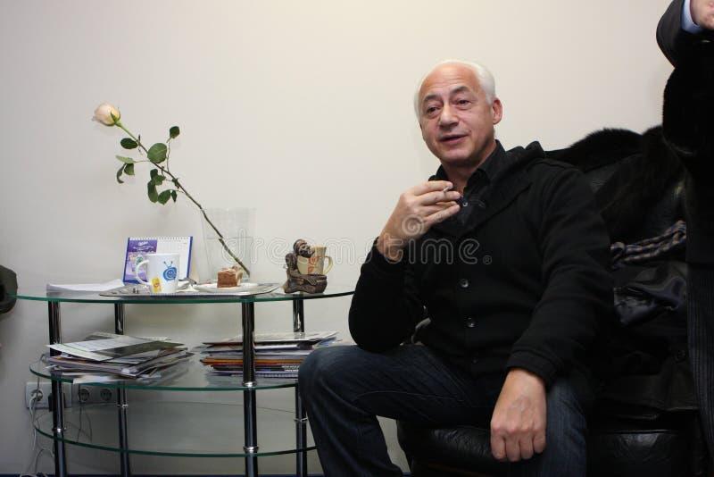 Vladimir Spivakov fotografering för bildbyråer