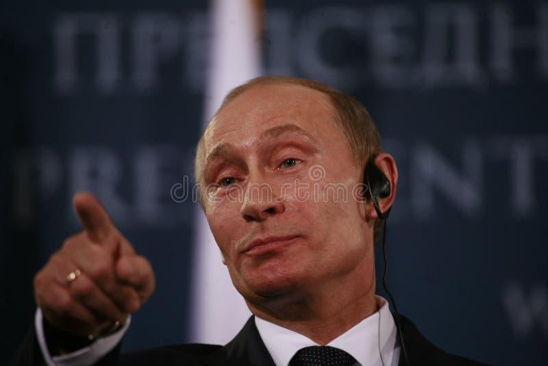 Vladimir Vladimirovich Putin arkivfoton