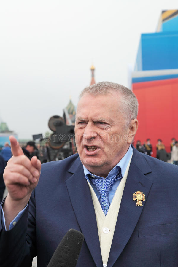 Vladimir Zhirinovsky photo libre de droits