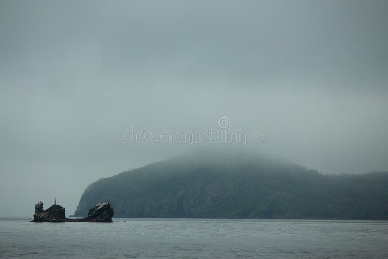vladivostok Het Japanse overzees royalty-vrije stock foto's