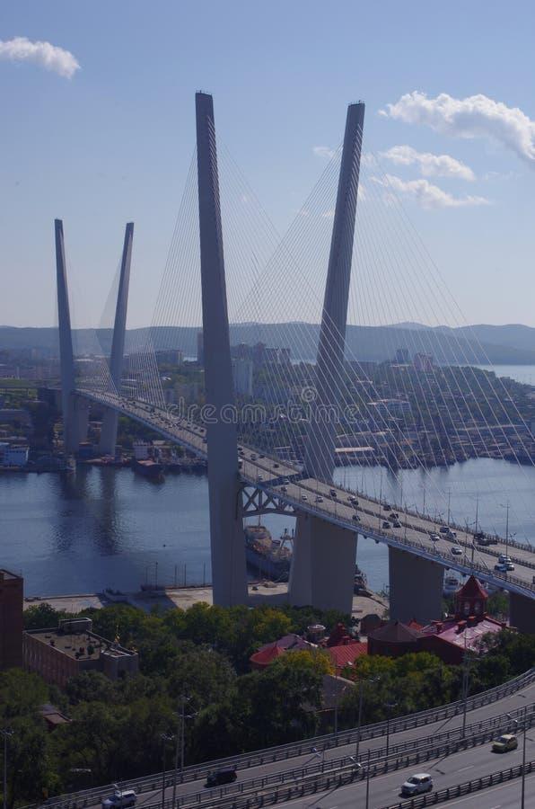 Vladivostok most zdjęcie royalty free
