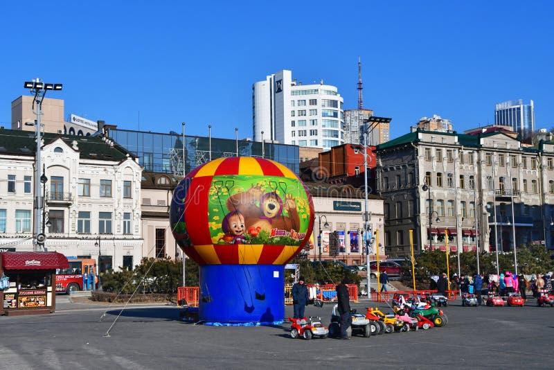 Vladivostok, Rusia, diciembre, 30, 2018 E imagen de archivo libre de regalías