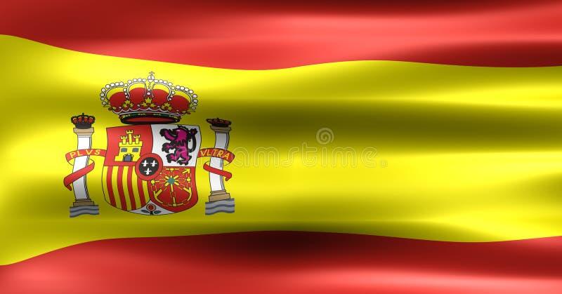 Vlag royalty-vrije illustratie