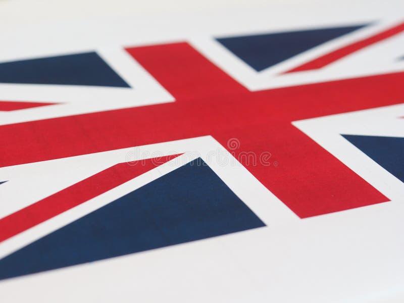 vlag van aka Union Jack van het Verenigd Koninkrijk (het UK) royalty-vrije stock foto's