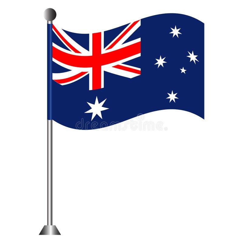 Vlag van Australië royalty-vrije illustratie