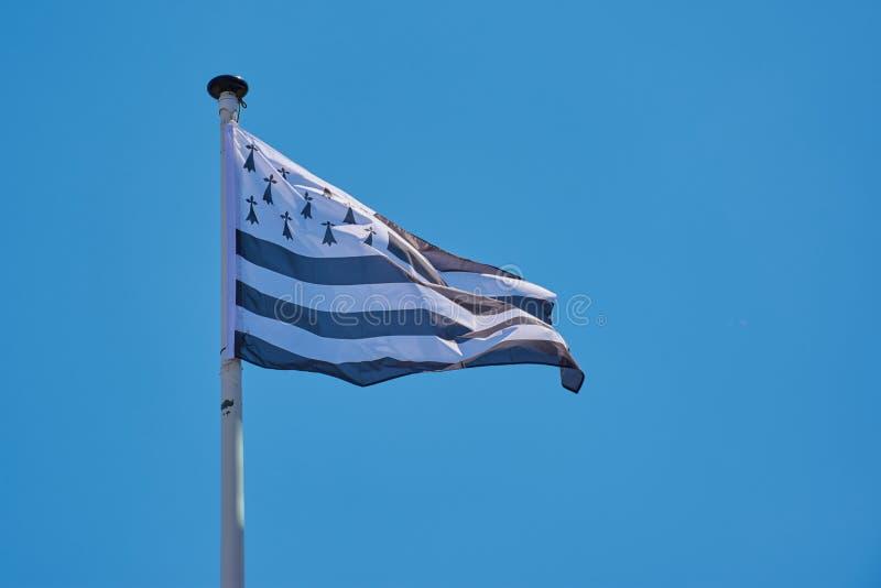 Vlag van Bretagne royalty-vrije stock foto's