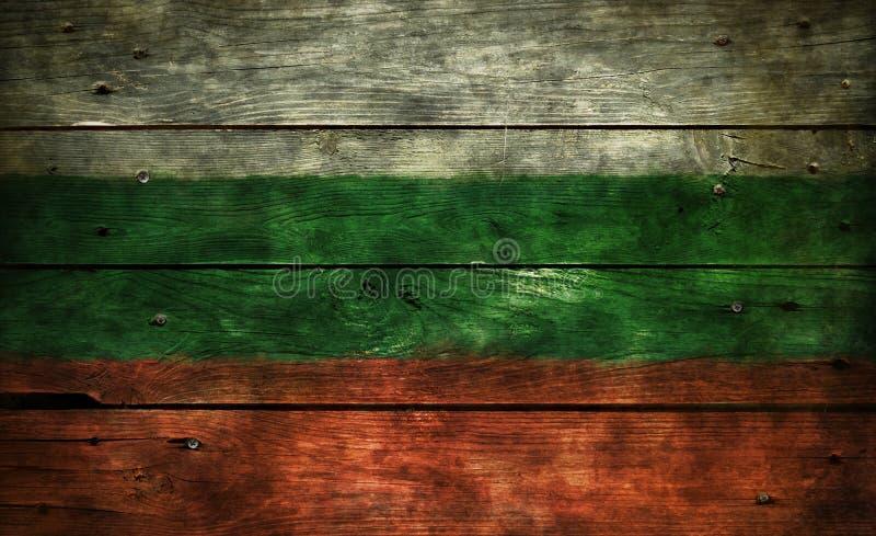 Vlag van Bulgarije royalty-vrije stock afbeelding