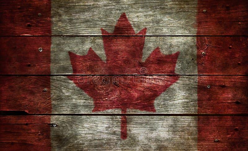 Vlag van Canada stock foto's