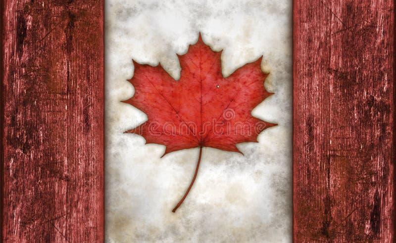 Vlag van Canada royalty-vrije stock foto