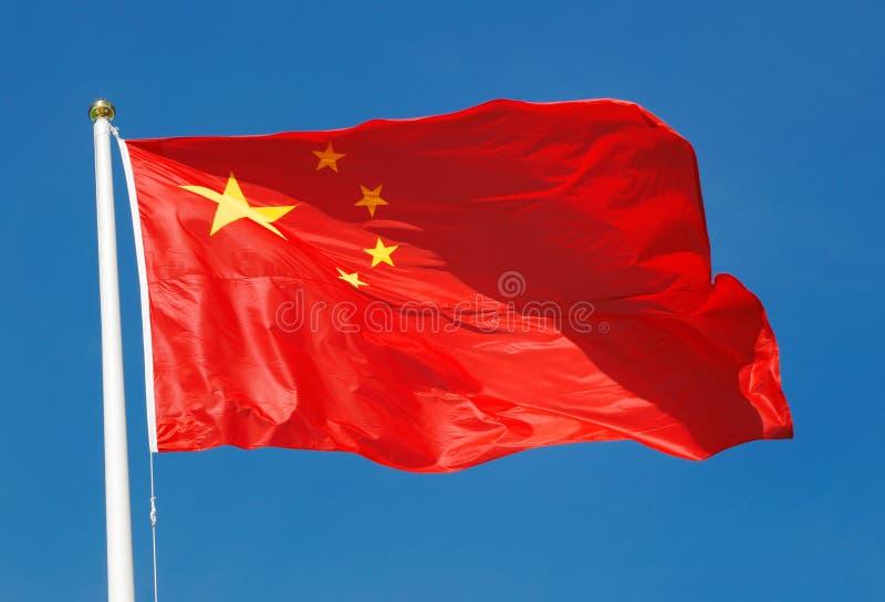 Vlag van China royalty-vrije stock afbeelding