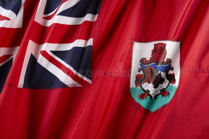 Vlag van de Bermudas royalty-vrije stock foto's