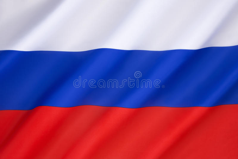 Vlag van de Russische federatie royalty-vrije stock foto's