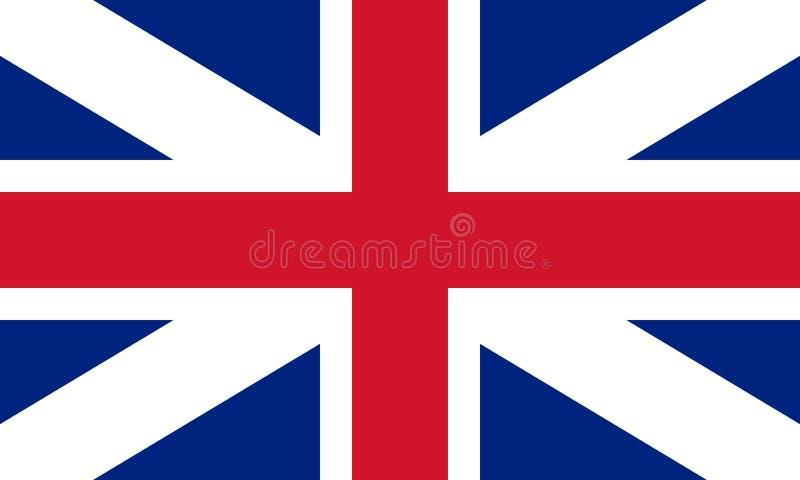 Vlag van de Unie (hefboom) 1606 vector illustratie