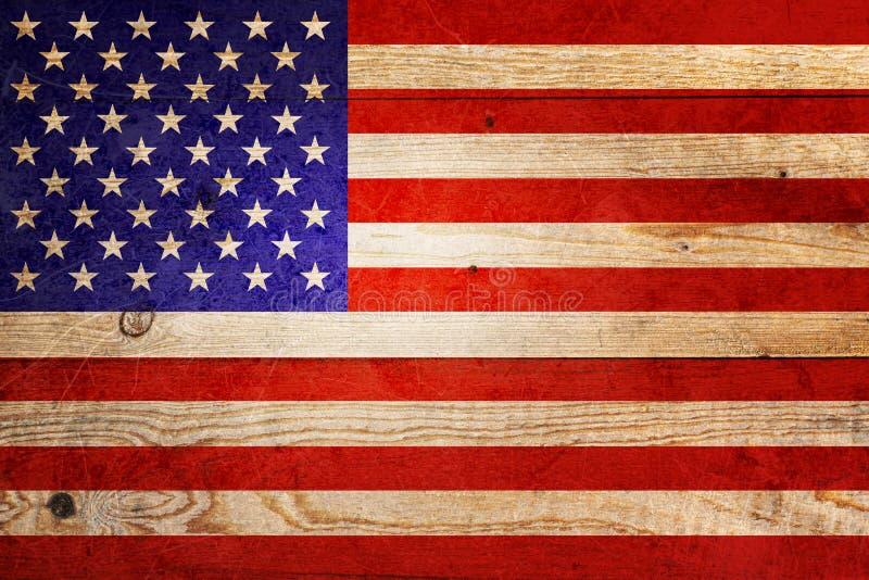 Vlag van de Verenigde Staten van Amerika stock foto