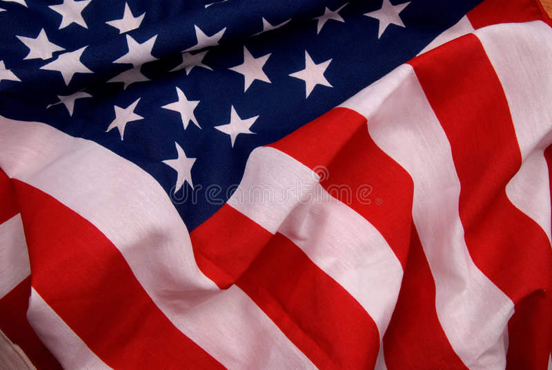 Vlag van de Verenigde Staten van Amerika royalty-vrije stock foto's