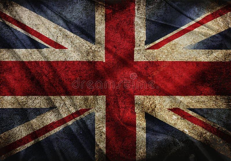 Vlag van Engeland  royalty-vrije illustratie