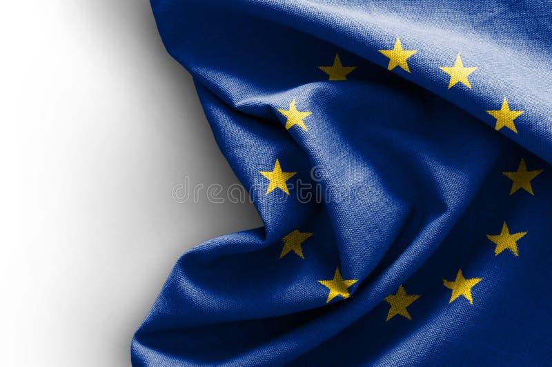 Vlag van Europa stock foto