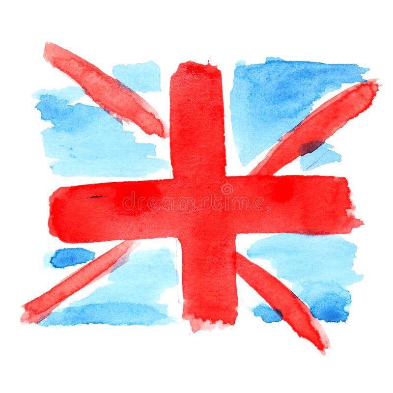 Vlag van het UK vector illustratie