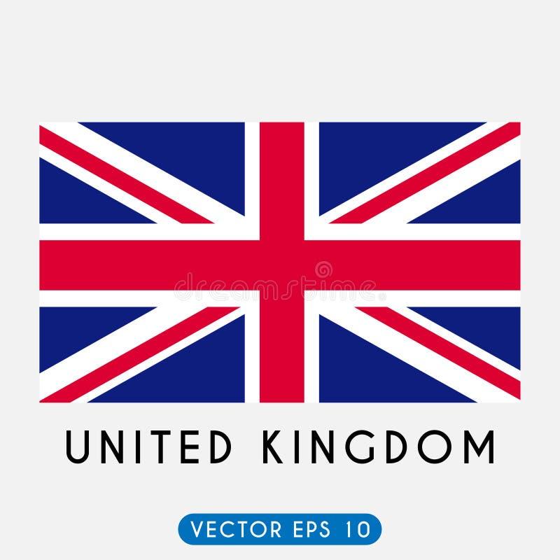 Vlag van het Verenigd Koninkrijk royalty-vrije illustratie