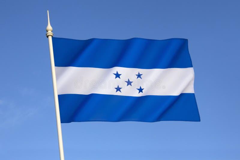 Vlag van Honduras royalty-vrije stock foto's