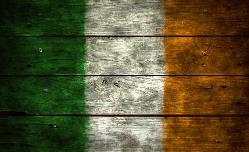 Vlag van Ierland stock foto