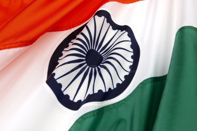 Vlag van India stock foto's