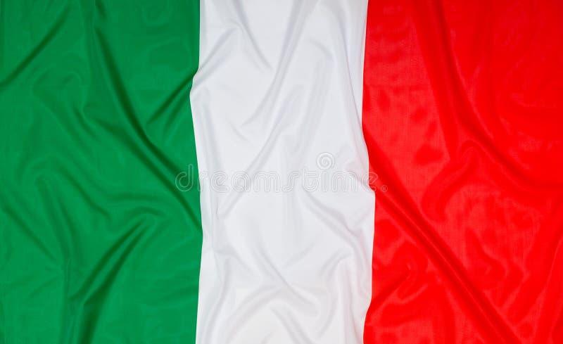 Vlag van Italië stock afbeeldingen