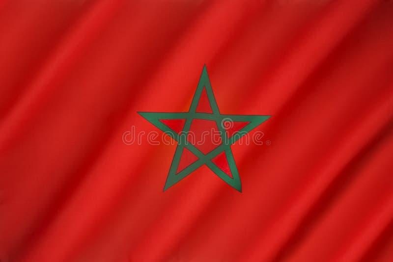 vlag marokko stock foto afbeelding bestaande uit