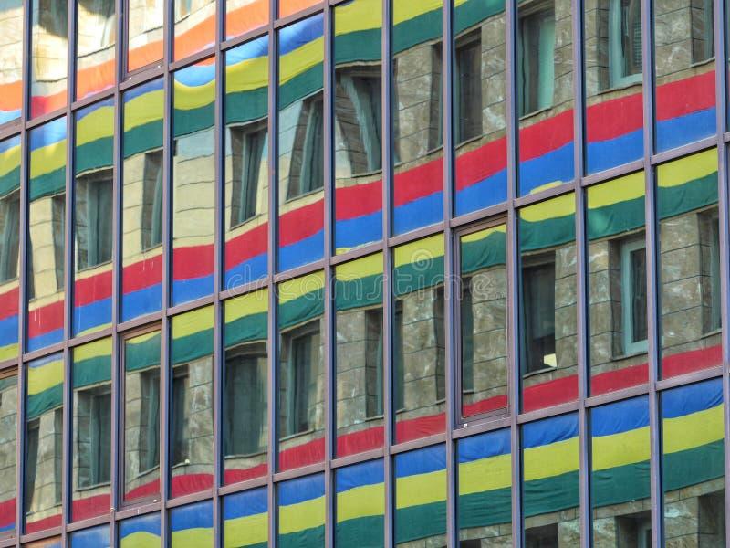 Vlag van Mauritius ter gelegenheid van Onafhankelijkheidsdag stock afbeelding