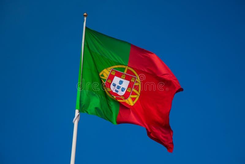 Vlag van Portugal Bandeira DE Portugal stock foto's