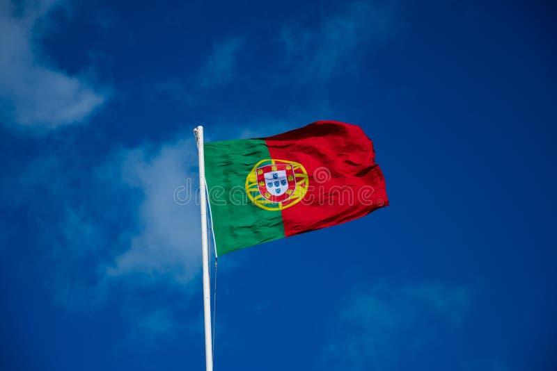 Vlag van Portugal Bandeira DE Portugal royalty-vrije stock foto's