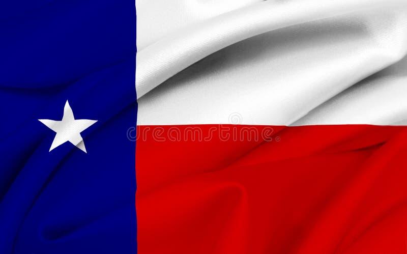 Vlag van Texas stock afbeelding