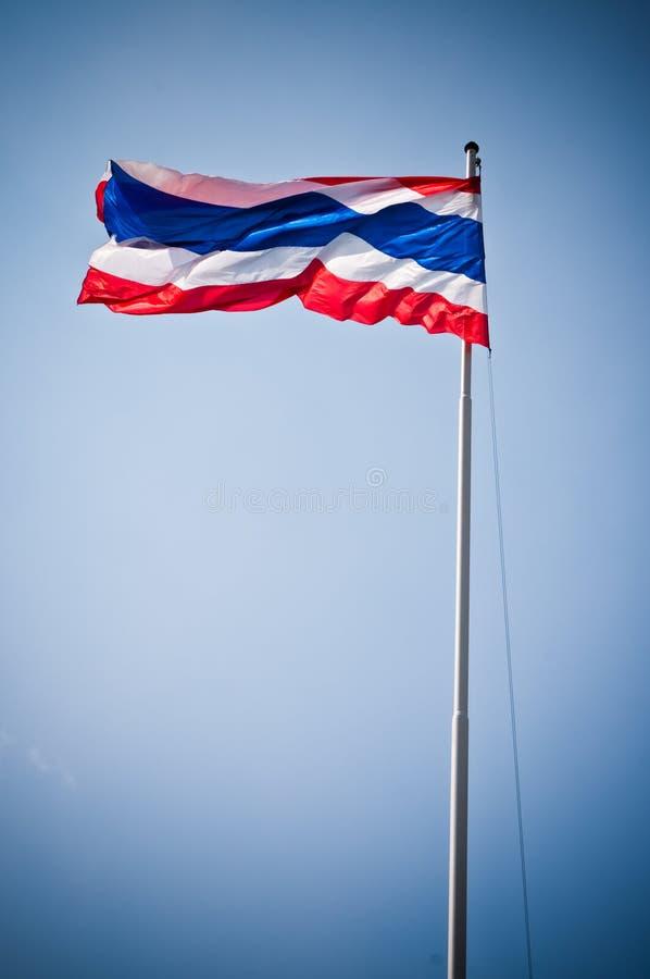 Vlag van Thailand stock afbeeldingen