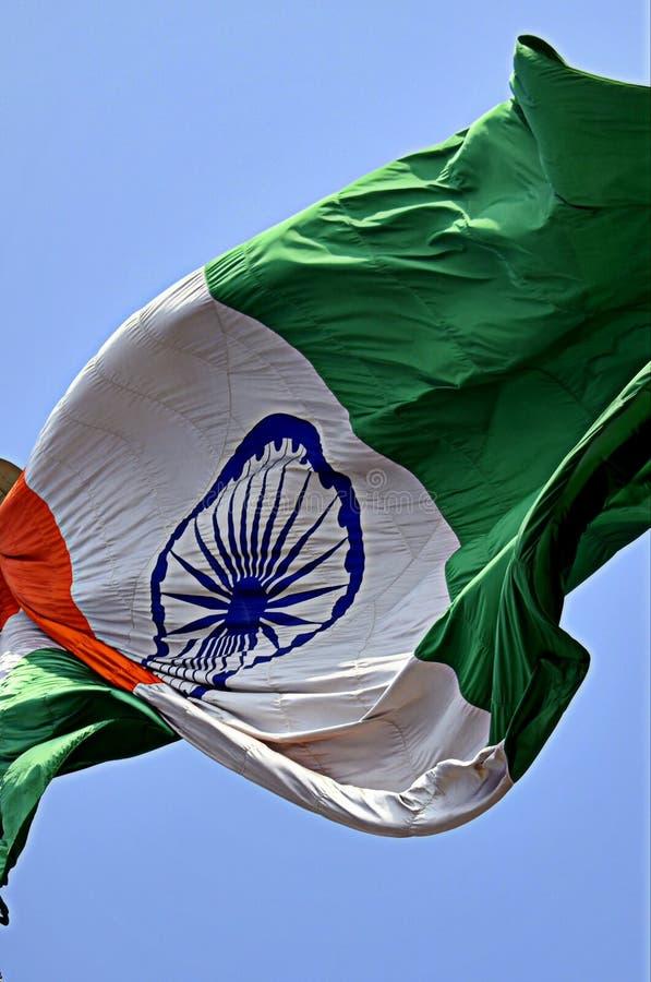 Vlag van tricolor van India royalty-vrije stock afbeelding