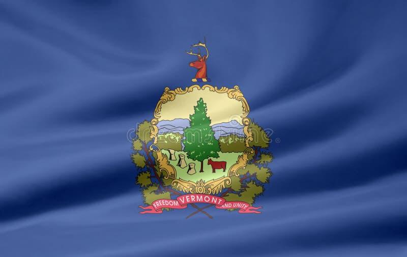 Vlag van Vermont royalty-vrije illustratie