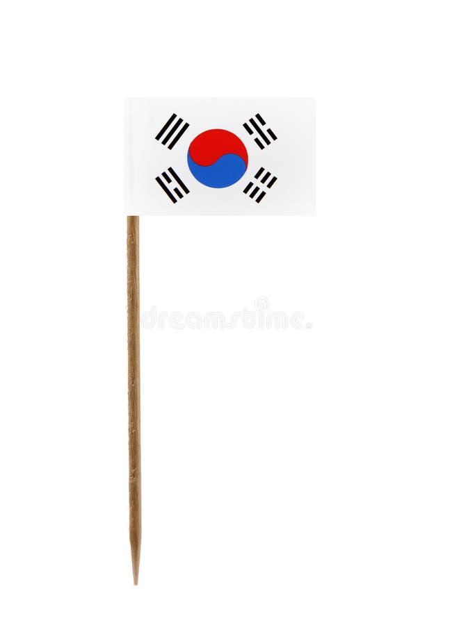 Vlag van Zuid-Korea stock foto's