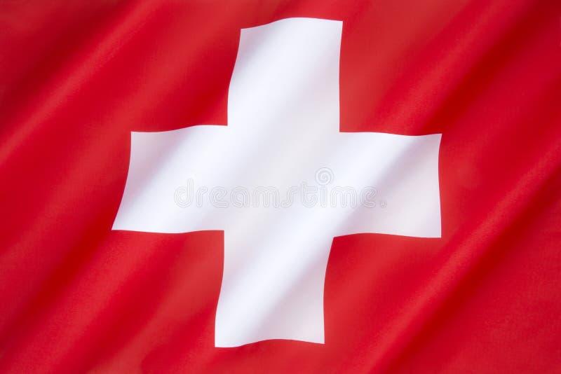 Vlag van Zwitserland royalty-vrije stock fotografie