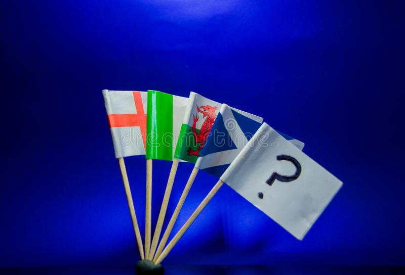 vlaggen stock foto's