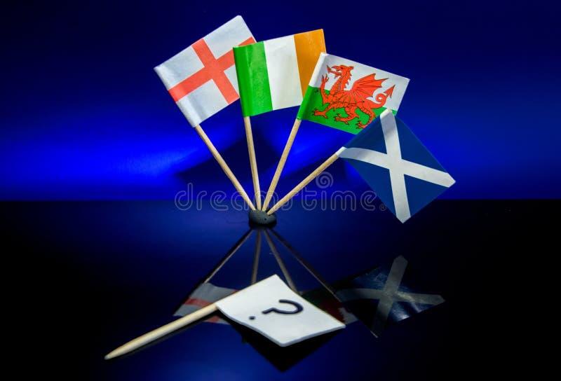 vlaggen royalty-vrije stock foto