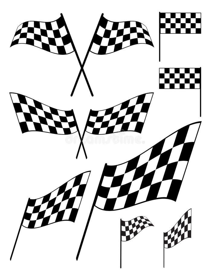 Vlaggen stock illustratie
