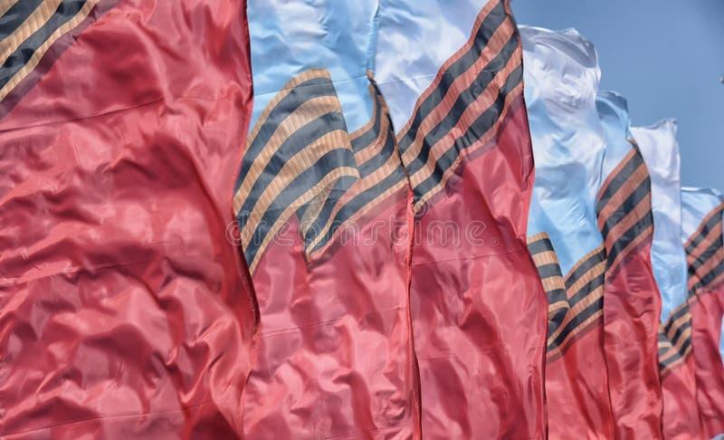 Download Vlaggen Die In De Wind Golven Stock Foto - Afbeelding bestaande uit kleur, symbool: 54081120