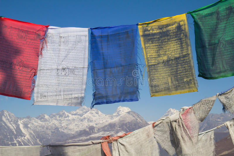Vlaggen van India royalty-vrije stock foto