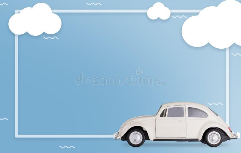 Vlak leg vervoers moderne stijl Creatieve fotografie De ruimte van het exemplaar reis concept vector illustratie
