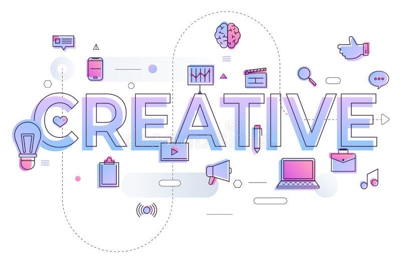 Vlak ontwerpconcept online het winkelen proces De vector illustreert vector illustratie
